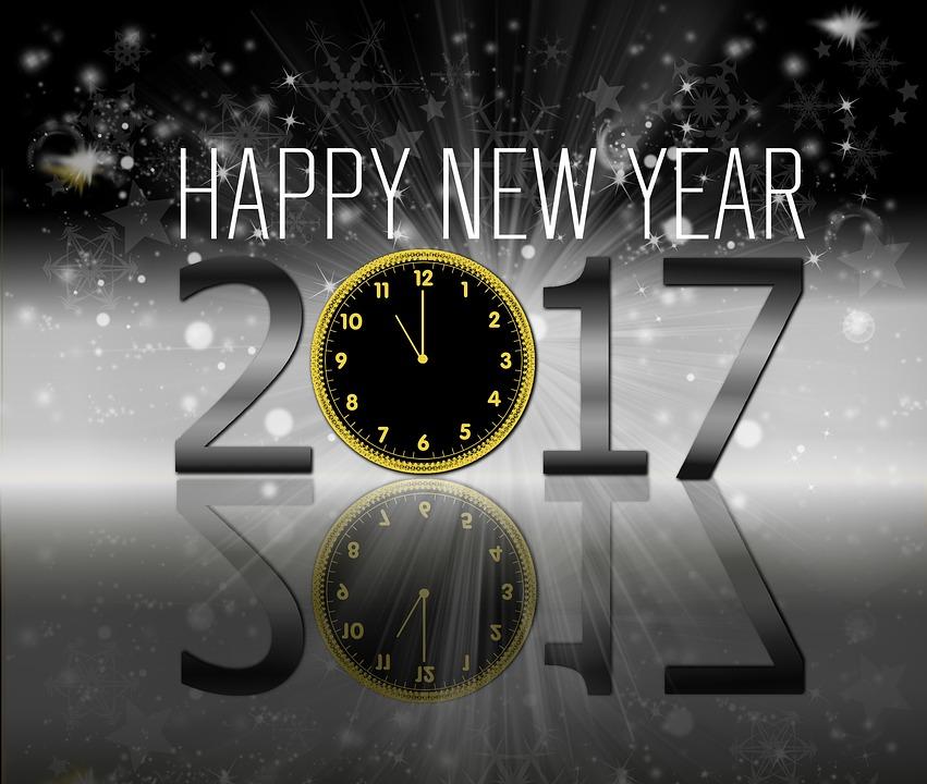 Hintergrund, Neujahr, Gestaltung, Ende, Schwarz, Tapete