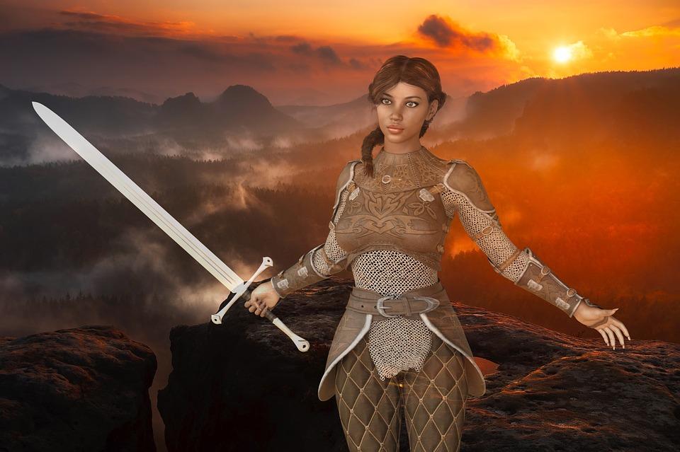 Amazone Frau