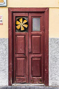 Door, Goal, Old Door, Wood
