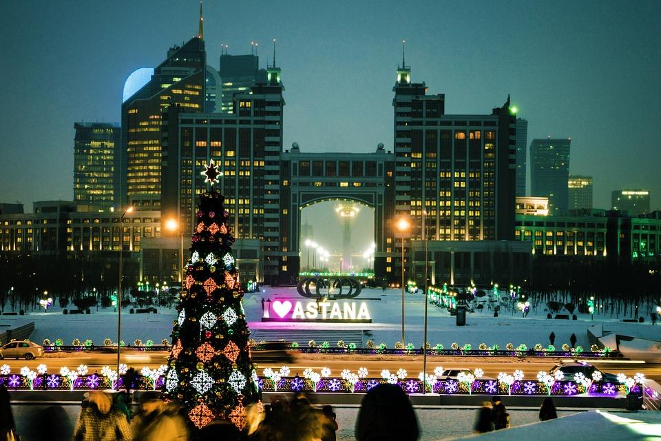 0c4bd4bb24070 Astana Kazachstan Nový Rok - Fotografia zdarma na Pixabay
