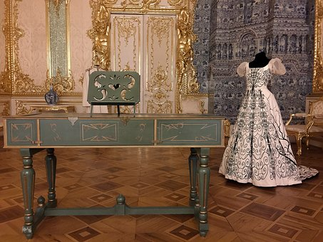 Russia Pouchkine Harpsichord Catherine Pal