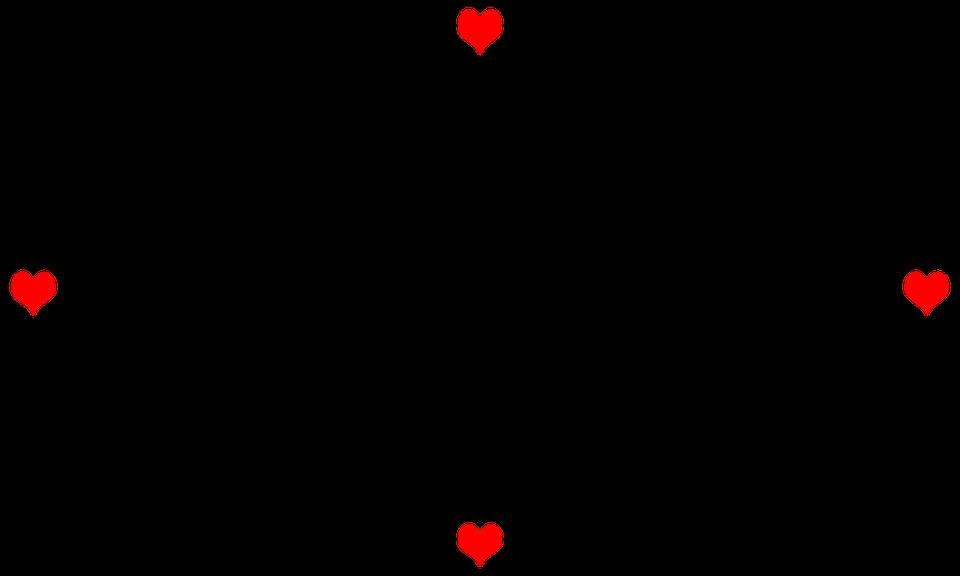 Marco Corazón Notas Musicales · Imagen gratis en Pixabay