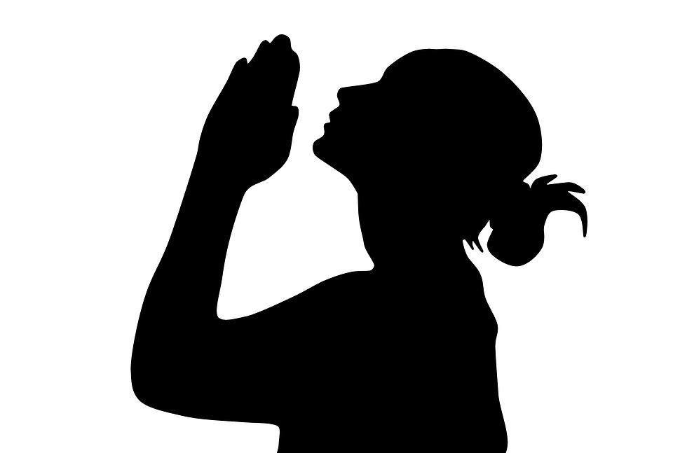 Woman Praying Prayer - Free image on Pixabay
