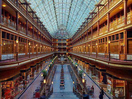 Cleveland, Ohio, Arcade, Architecture