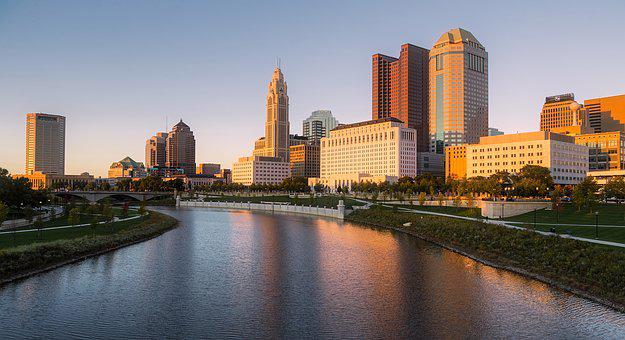 Columbus, Ohio, City, Urban, Buildings