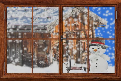 Fen tre en hiver images gratuites sur pixabay for Fenetre hiver