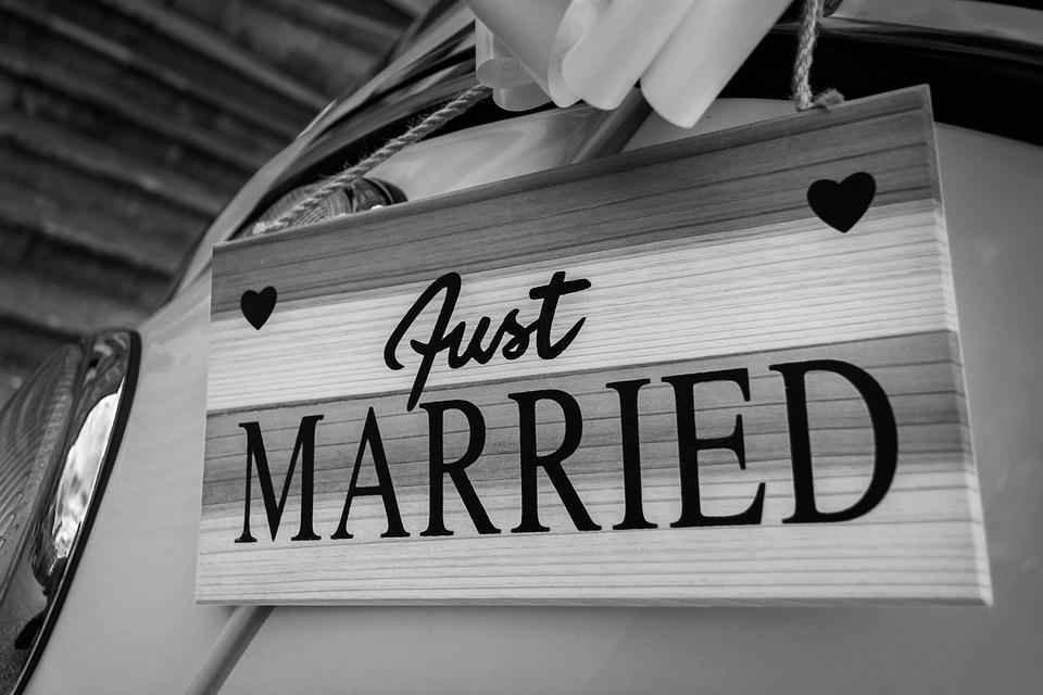 Married Sign Wedding Free Photo On Pixabay