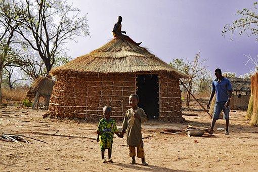 Ghana, Africa, West Africa, Village