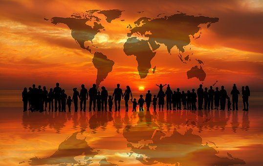Sunset, Sunrise, Continents, Personal
