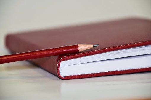 Cahier, Agenda, Écrire, Livre, Notes