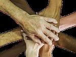 hands, teamwork