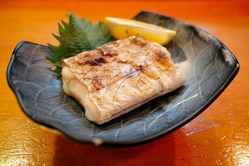レストラン, 料理, 食べ物, 食事, 魚, 魚料理, 焼き魚, 和食, 日本食
