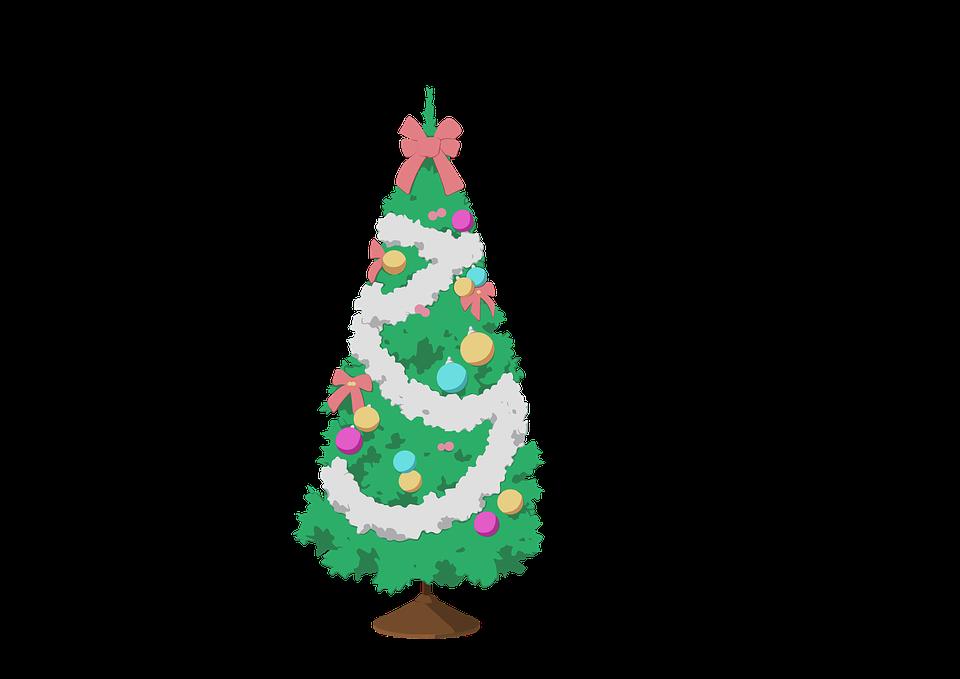 Weihnachtsbaum Clipart.Clipart Weihnachtsbaum Dekoration Kostenloses Bild Auf Pixabay