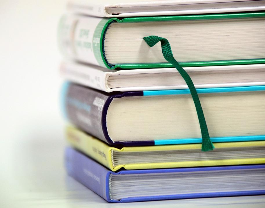 Książki, Stos, Book Stos, Literatura
