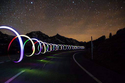 Light Graffiti, Road