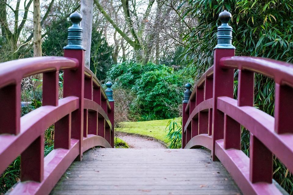 Brücke Japanischer Garten Geländer Kostenloses Foto Auf Pixabay