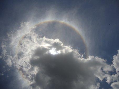 Eclipse, Lunar, Clouds, Sky