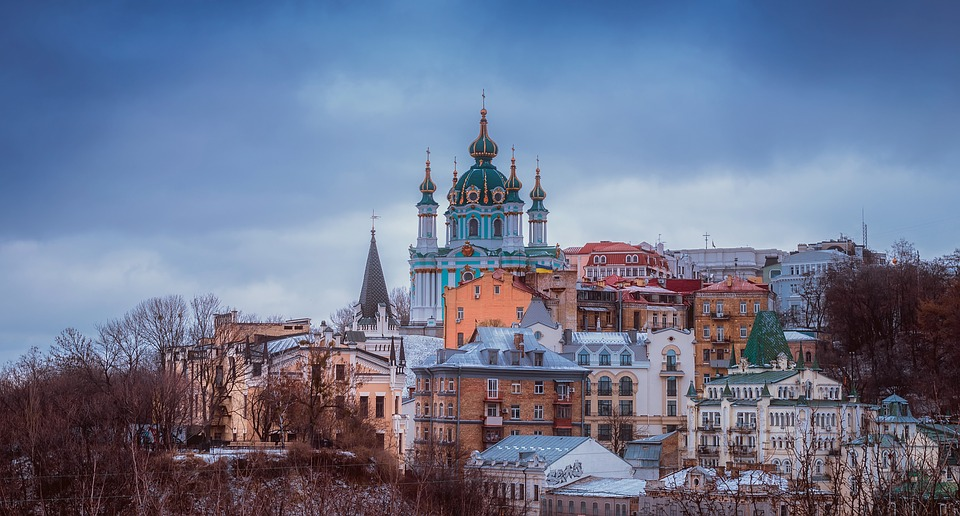 Kiev, Ukraine, City, Urban, Architecture, Buildings