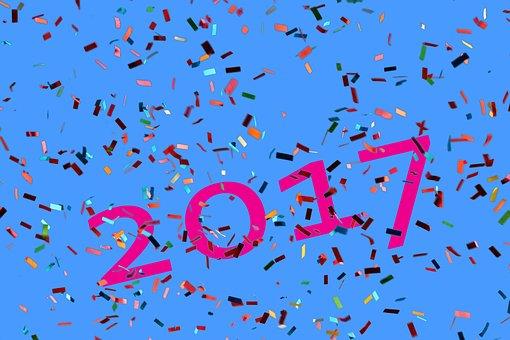 Neues Jahr, Neujahr 2017, Jahreswechsel