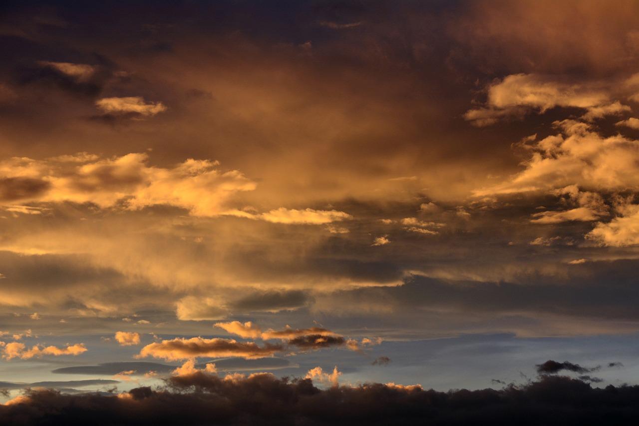 Небо картинка вечер