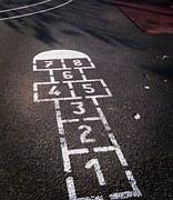Image result for public domain image hopscotch