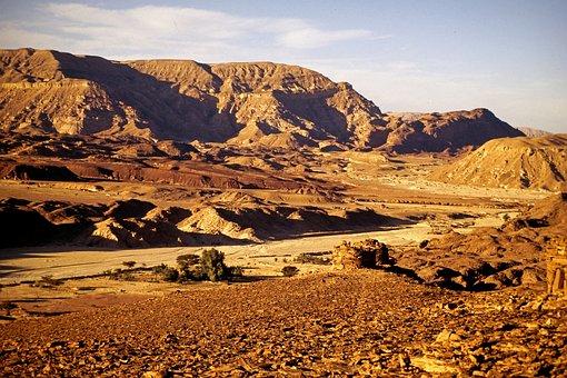 Sinai, Desert, Egypt, Travel, Sinai