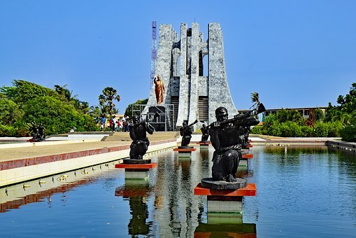 Accra Ghana West Africa Africa Monument Am