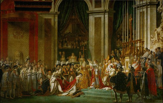 Napoleon, Oil Painting, The Coronation