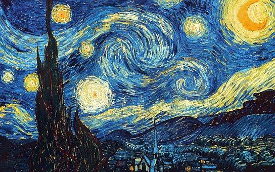 Sternenklarer Himmel, Van Gogh