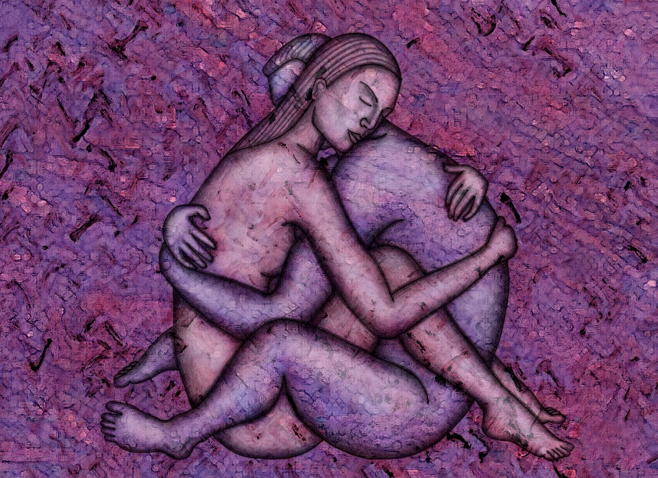 Ilustración, Dibujo, Desnudos, Erotismo, Pareja