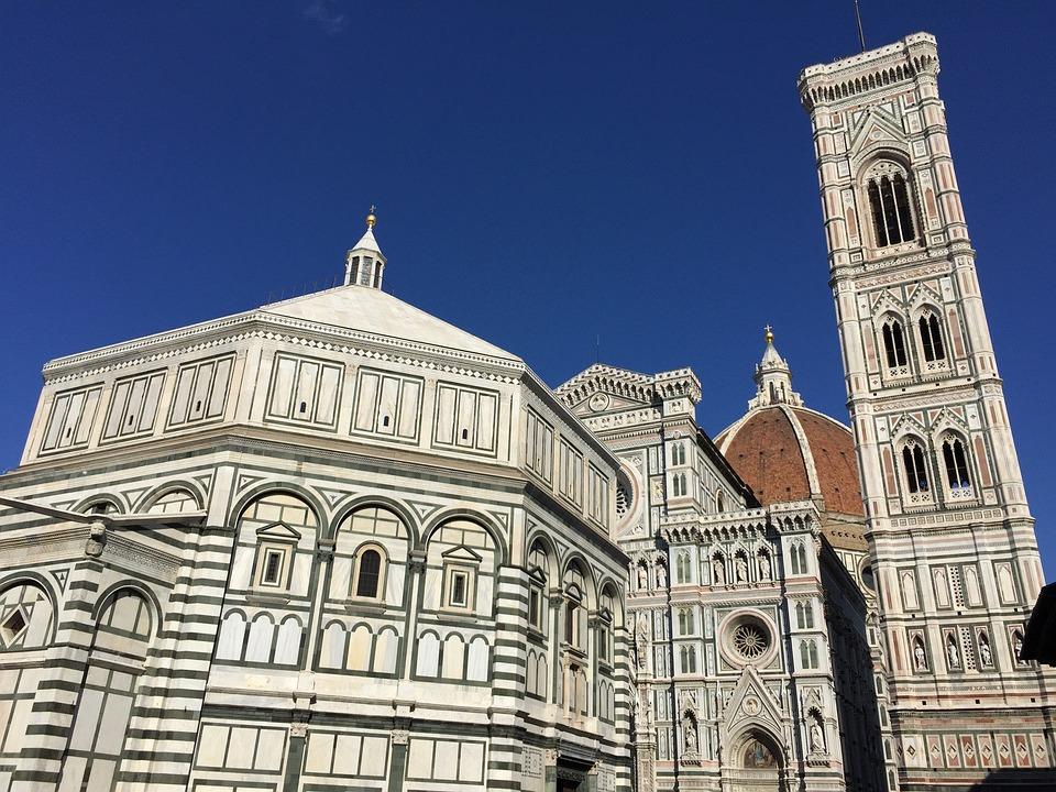 Duomo, Baptistère, Campanile, Florence, Tuscany