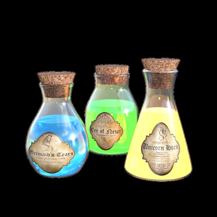 Zaubertrank Flaschen Kork · Kostenloses Bild auf Pixabay