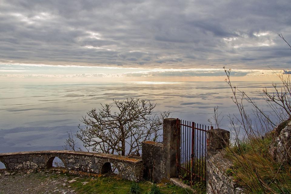 Maratea, Monte San Biagio, Meriggio, Tramonto