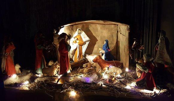 Crèche, Noël, Nouveau - Né, Nativité