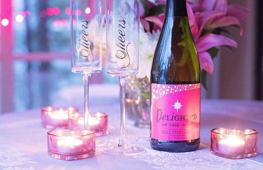 Wine, Love, Valentines Day, Valentine