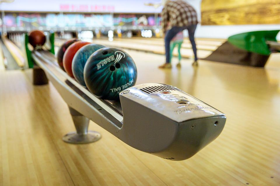 Bowling, Familie, Erholung, Lebensstil, Freizeit, Spaß