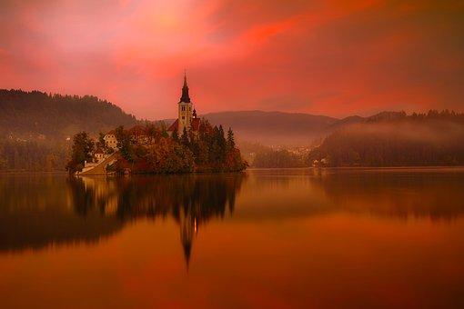Lake Bled, Slovenia, Travel, Tourism