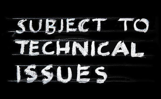 Problem Technical Issues Technology Error