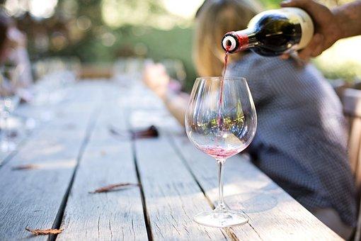 Vin, Verre, Boire, Dégustation, Main