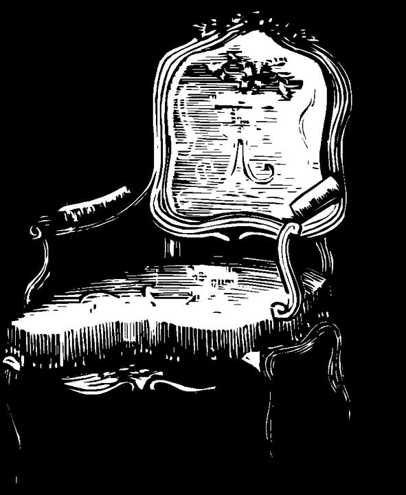 Chair Fancy Vintage Furniture Room