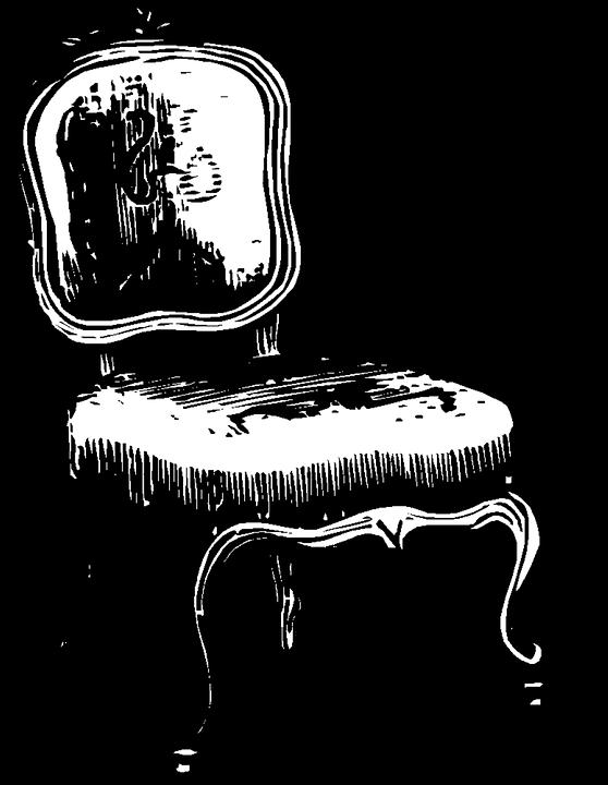 Chair, Fancy, Vintage, Furniture, Room, Ornate, Swirl