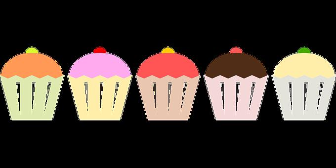 Pasteles, Muffins, Pastelería