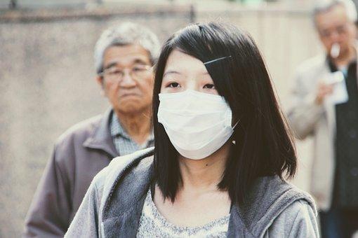 Máscara, Protección, Sars