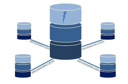 データベース, データ, コンピュータ, ネットワーク, クラウド, ストレージ