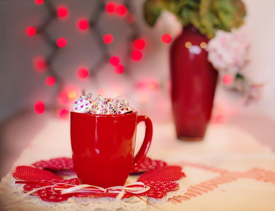Free photo: Valentine\'S Day, Red, Mug, Candy - Free Image on ...