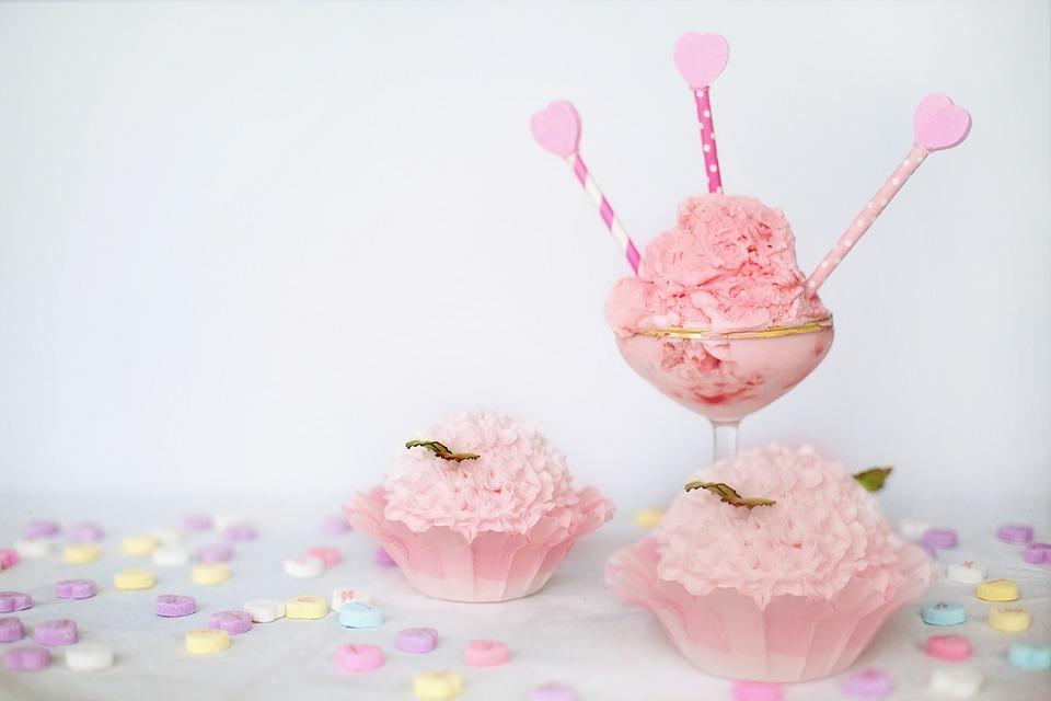 Valentine S Day Pink Ice Cream Free Photo On Pixabay
