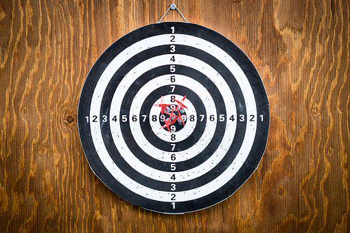 Success, Goal, Target, Dart Board, Darts