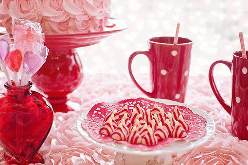 Valentine'S Day, Cake, Pink, Red, Mugs,124 Free images of Chocolate Day Related Images: Chocolate Love Heart  Valentine's Day  Candy  Hot Chocolate  Romantic  Romance  Valentine  Sweet