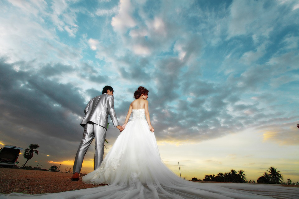 Wedding, People, Pair, Thailand Sets, Thailand