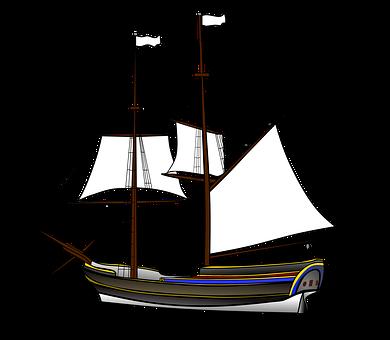 Ship Sailor Wood Masts Sail Pirates